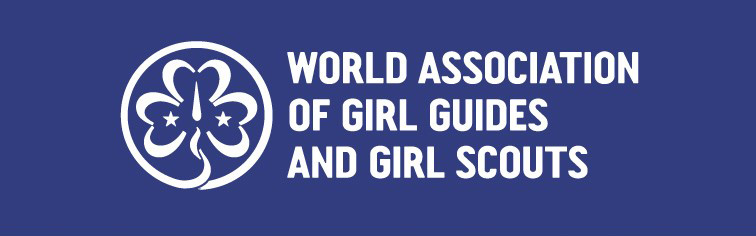 Logo der World Association of Girl Guides and Girl Scouts (WAGGGS)